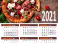 Kalendarz 2021 do kuchni